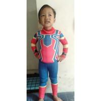 Baju Renang Anak pelampung Imut SuperHero for 2 -3 Tahun