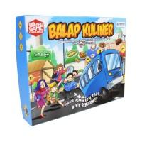 Balap Kuliner Board Game Harian Kompas
