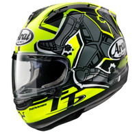 Arai SNI RX7X TT IOM 2019 Limited Edition Helm Full Face - Yellow - M