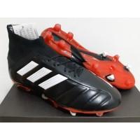 Sepatu Bola - Soccer Adidas Predator Mania 19.1 Leather Black - FG