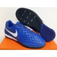 Sepatu Futsal Nike Tiempo Lunar Legend 8 Pro Hyper Royal Blue White
