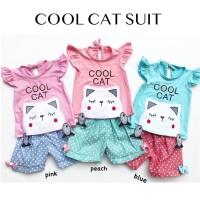 COOL CAT SUIT setelan anak setelan bayi baju bayi babeebabyshop