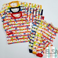 [YK] Setelan Baju Bayi Anak Laki-Laki Usia 3-12 Bulan Model Binatang