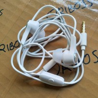 Headset Handsfree Asus Zenfone Ear Original 100% - Putih