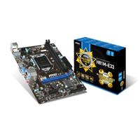 Motherboard MSI H81M-E33 [LGA1150, H81, DDR3]
