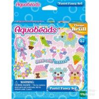 AquaBeads Pastel Fancy Set Sweet Animal Refill - ORI Aqua Beads EPOCH
