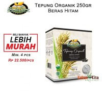 Tepung Beras Hitam Organik 250gr ( Organic Flour )
