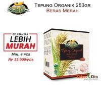 Tepung Beras Merah Organik 250gr ( Organic Flour )