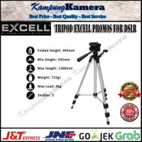 Tripod EXCELL Promoss / Excel Promos For Camera DSLR & Handycam