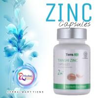 Zinc Capsules Tiens / Vitamin Hormon & Pertumbuhan / Daya Tahan Tubuh