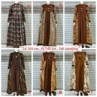 gamis batik murah