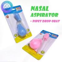 Penyedot Ingus Bayi aka Nasal Aspirator + Pipet Drop Obat Bayi Dodo