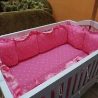 bumper box baby aja ukuran 120×70 tebal bumper 5cm