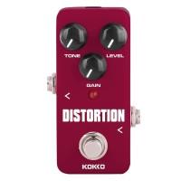 ice Kokko FDS2 Mini Distortion Pedal Portabel Gitar Efek Pedal