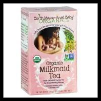 PROMO PROMO EARTH MAMA ANGEL BABY, ORGANIC MILKMAID TEA, 16 BAGS.