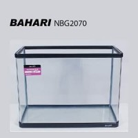 Aquarium Kaca Bending Bahari NBG-2070 Tank Ikan Aquascape Akuarium