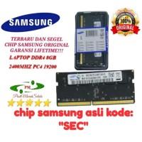 Terbaik RAM nb MEMORI LAPTOP NB DDR4 8GB 2400 SAMSUNG