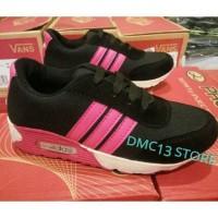 Termurah ! Sepatu sport Adidas Airmax Anak-anak black & pink fanta