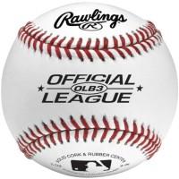 TERMURAH Rawlings Official League Logo Baseball Bola Ball TERJAMIN