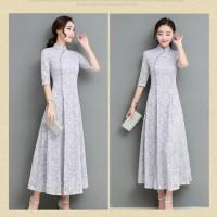 hoot sale Imlek Adat Dress Klasik Shanghai Cheongsam China Cina Baju
