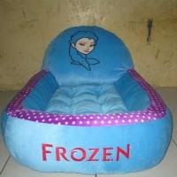Kasur Bayi Biru Karakter Frozen Motif Polkadot Evandimas8