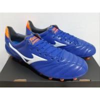 Sepatu Bola - Soccer Mizuno Morelia Neo II Leather Blue White - FG