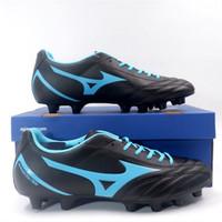 Sepatu Bola Mizuno Monarcida Neo Select Black Blue P1GA192525