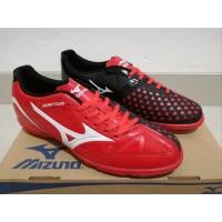 Sepatu Futsal Mizuno Wave Ignitus 4 Bright Red Black - TURf Sepatu