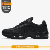 Sepatu Sepatu Sneakers Nike Air Max Tailwind 4 Triple Black Original A