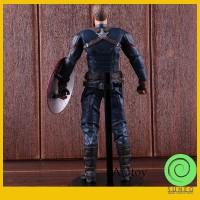 Wow Action Figure Captain America 3 Bahan PVC untuk Koleksi