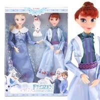 Boneka Elsa Putri Anna Putri Duyung Elsa Barbie