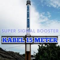 Antena Penguat Sinyal Modem 3G / 4G - Kabel 15 Meter