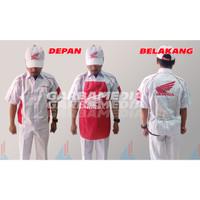 Seragam Mekanik AHASS / Baju Mekanik Honda (BAJU,CELANA,TOPI,CELEMEK)