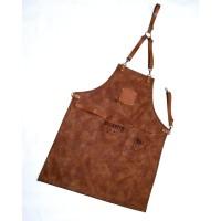 Full Apron/celemek premium synthetic leather quantum for barista etc