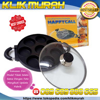 LOYANG CETAKAN KUE 8 LUBANG HAPPY CALL CUBIT APEM PANCAKE SNACK MAKER