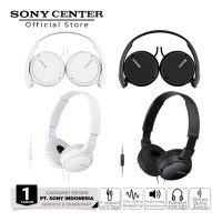 Sony MDR-ZX110AP Extra Bass Smartphone Headset Black
