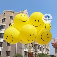 Balon Latex Doff Smile / Balon Karet Smile 12 inch Perpack isi 100 pcs