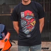 RRMF Wolf Graffiti Kaos T-shirt
