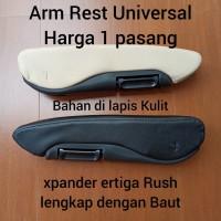 Armrest universal Mitsubishi xpander ertiga rush sandaran tangan arm - Hitam