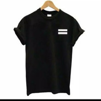 T-shirt baju kaos pria EXO DESIGN LOGO