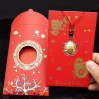 angpao emas imlek hongkong logam mulia 24k real gold hongbao
