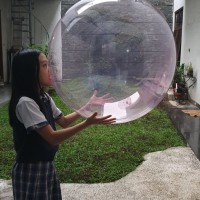 Balon Bobo Warna Bulat / Bobo Balon Color bening ukuran 36 / 36 inch