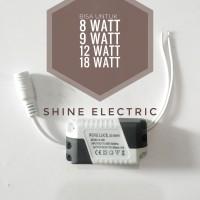 Trafo Driver Adaptor lampu panel LED 8w 12w 18w 18 w 18 watt ballast