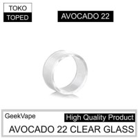 Replacement Clear Glass For Avocado 22 Rdta Geek Vape | Rda Toko Toped