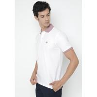 Jack Nicklaus Delmare Polo Shirt Pria Regular Fit Putih