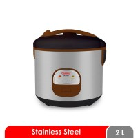 Rice Cooker Cosmos Stainless Steel 2 Liter CRJ 9301