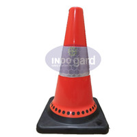 Traffic cone,Rubber Kerucut 45cm,Cetak Logo,Pembatas Jalan,Safety Cone