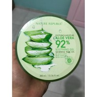 Body Lotion Nature Republic Aloe Vera Soothing & Moisturing Gel 92