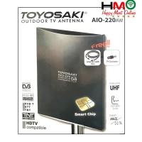 Antena TV Digital Indoor & Outdoor Toyosaki AIO 220 / AIO-220