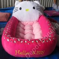 Kasur Bayi Karakter Boneka Hello Kitty Motif Polkadot Ilhamarmain8